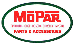 redigned Mopar logo